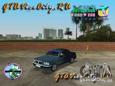 Волга ГАЗ 3110 для GTA Vice City