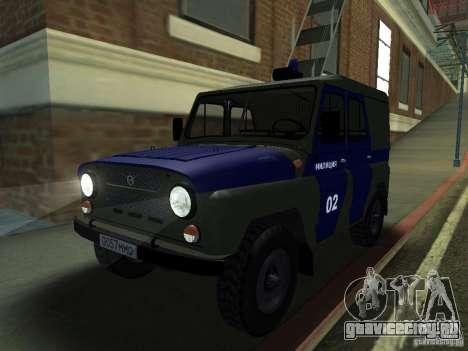 УАЗ 3151 Милиция для GTA San Andreas