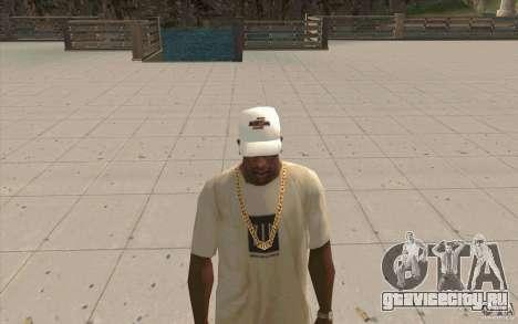 Кепка nfsu2 white для GTA San Andreas второй скриншот