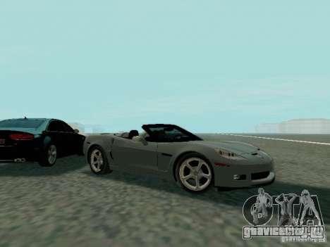 Chevrolet Corvette C6 GS Convertible 2012 для GTA San Andreas вид сбоку