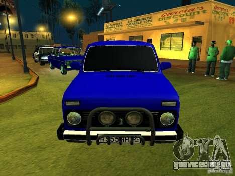 ВАЗ 21214 Нива для GTA San Andreas вид слева