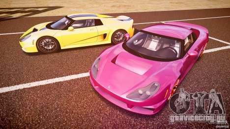 Rossion Q1 2010 v1.0 для GTA 4 двигатель