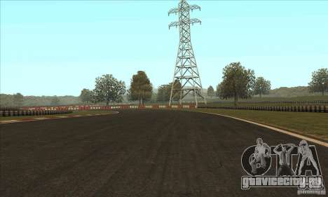 Трасса GOKART Route 2 для GTA San Andreas четвёртый скриншот