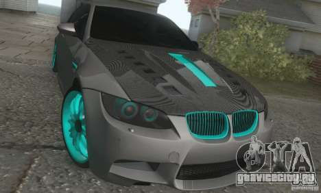BMW M3 E92 Hellaflush v1.0 для GTA San Andreas