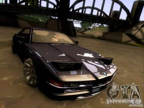 BMW 850 CSI для GTA San Andreas вид снизу