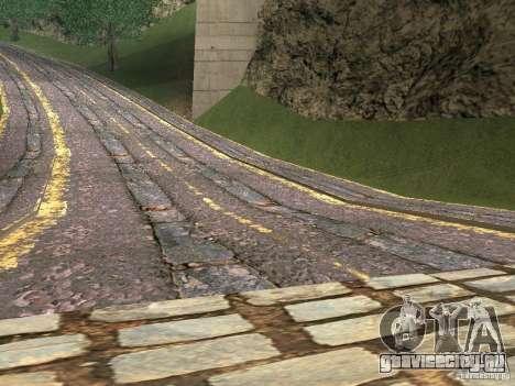 Новые дороги в Вайнвуде для GTA San Andreas второй скриншот