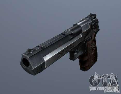 Desert Eagle - Old model для GTA San Andreas второй скриншот