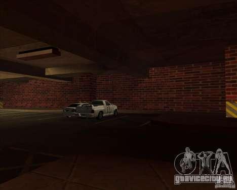 Новый гараж полиции ЛСПД для GTA San Andreas четвёртый скриншот