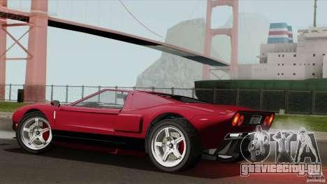 Bullet GT from TBOGT для GTA San Andreas вид слева