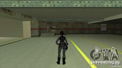 Lara Croft для GTA San Andreas второй скриншот