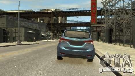 Hyundai IX20 2011 для GTA 4 вид сзади