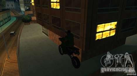Мотоцикл Мирабаль для GTA San Andreas вид справа
