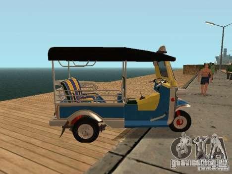 Tuk Tuk Thailand для GTA San Andreas вид слева