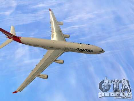 Airbus A340-300 Qantas Airlines для GTA San Andreas