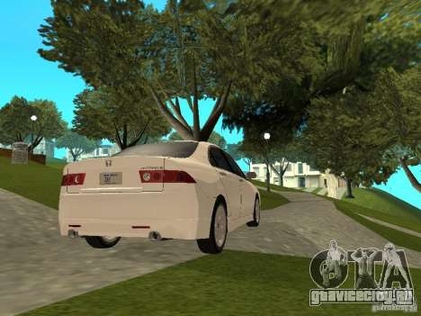 Honda Accord Type S 2003 для GTA San Andreas вид слева