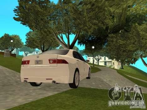 Honda Accord Type S 2003 для GTA San Andreas вид слева