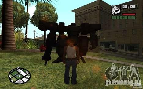 Экзоскелет для GTA San Andreas второй скриншот