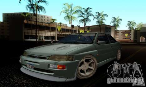 Ford Escort RS Cosworth для GTA San Andreas