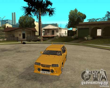 ВАЗ 2108 Юкка спорт для GTA San Andreas вид сзади