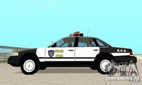 Ford Taurus 1992 Police для GTA San Andreas вид слева