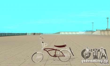 Low Rider Bike для GTA San Andreas вид слева