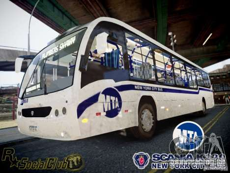 Scania K230 MTA New York City Bus для GTA 4