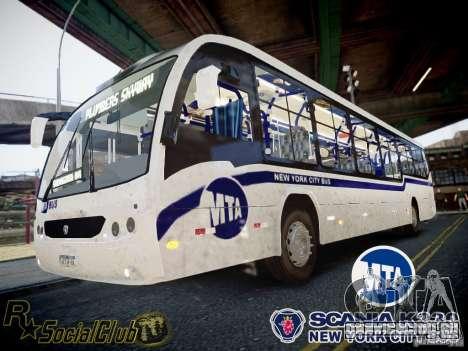 Scania K230 MTA New York City Bus для GTA 4
