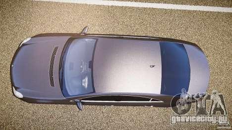 Mercedes-Benz CLS 63 для GTA 4 вид сзади