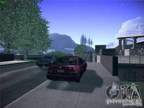 Honda Civic Sedan 1997 для GTA San Andreas вид слева