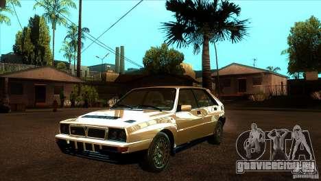 Lancia Delta HF Integrale для GTA San Andreas