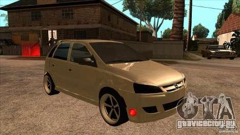 Opel Corsa Tuning Edition для GTA San Andreas вид сзади
