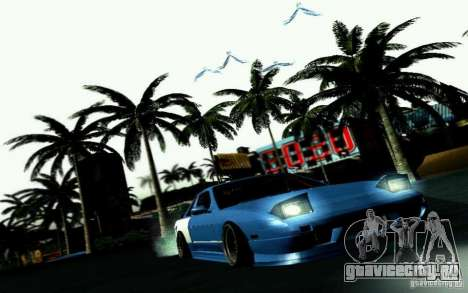 Nissan S13 Onevia для GTA San Andreas вид сбоку