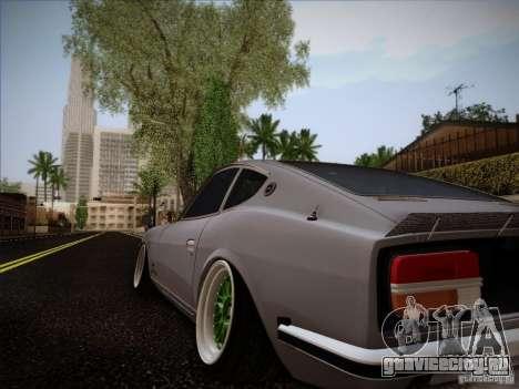Nissan 280 Fairladyz 4.32 для GTA San Andreas вид слева