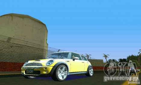 Mini Cooper S для GTA Vice City