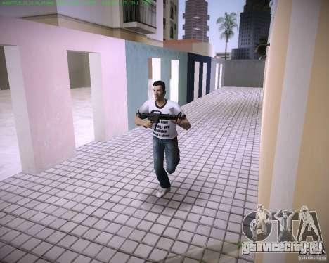 Новая М4 для GTA Vice City третий скриншот