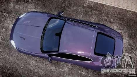 Jaguar XKR-S для GTA 4 вид справа