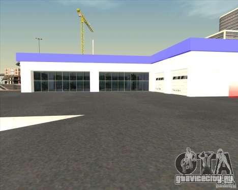 AMG showroom для GTA San Andreas третий скриншот