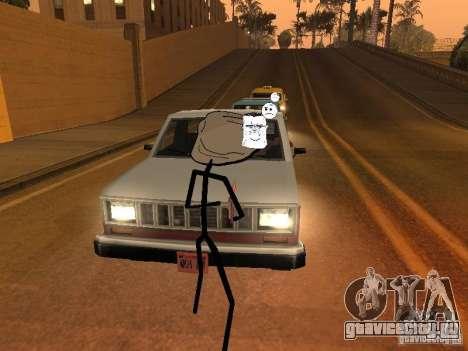 Meme Ivasion Mod для GTA San Andreas шестой скриншот
