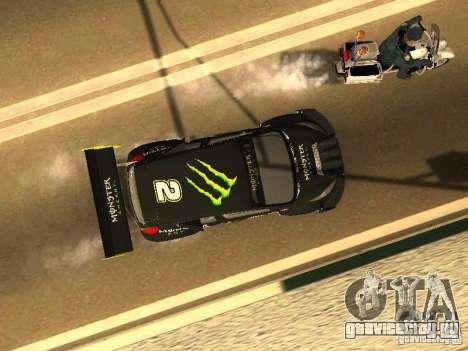 Ford Fiesta Rally Time для GTA San Andreas вид сбоку