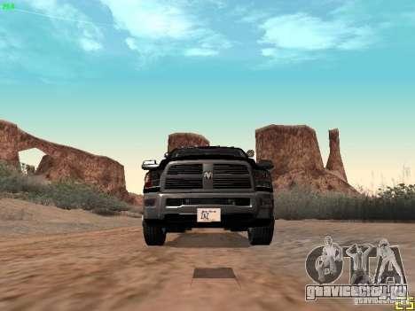 Dodge Ram 3500 Unmarked для GTA San Andreas вид сбоку