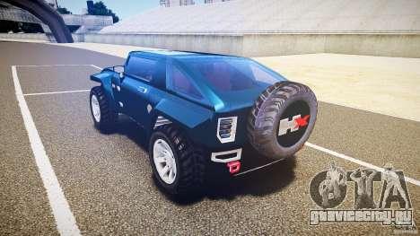 Hummer HX для GTA 4 вид сзади слева