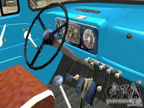 ЗиЛ 431410-130 Final для GTA 4 вид изнутри