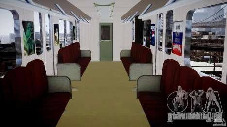 Русское метро для GTA 4 третий скриншот