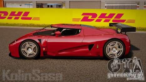 Koenigsegg CCGT Stock для GTA 4 вид слева