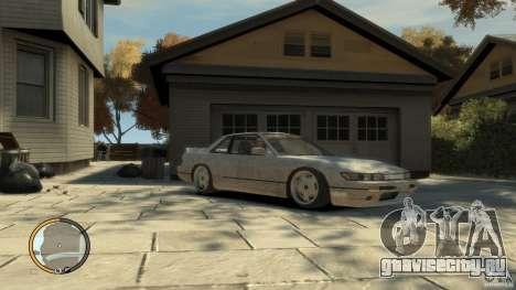 Nissan Silvia s13 Drifted v1.0 для GTA 4
