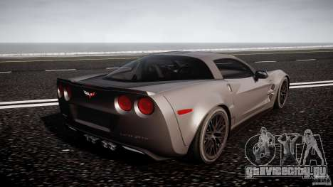 Chevrolet Corvette ZR1 2009 v1.2 для GTA 4 вид сверху