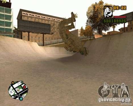 Parkour discipline beta 2 (full update by ACiD) для GTA San Andreas пятый скриншот