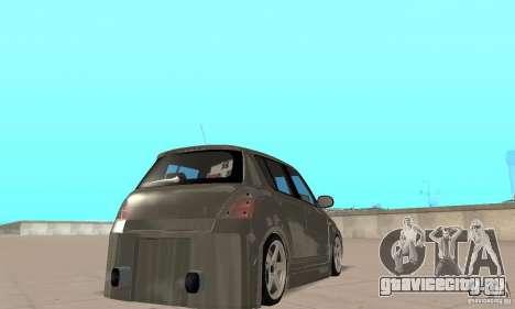 Suzuki Swift Tuning для GTA San Andreas вид слева