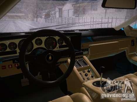 Lamborghini Countach LP5000 для GTA San Andreas вид сзади