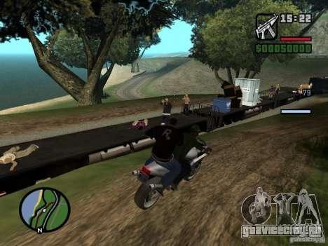 Great Theft Car V1.1 для GTA San Andreas шестой скриншот